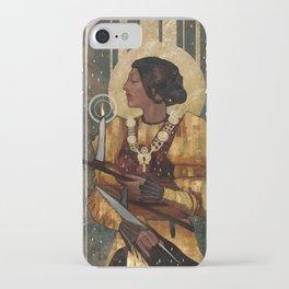 Josephine Montilyet Tarot Card iPhone Case