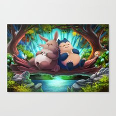 Snooze Patrol Canvas Print