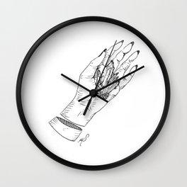 Crystallization Wall Clock