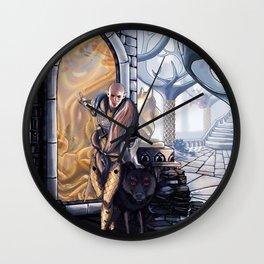 Solas leaves Wall Clock