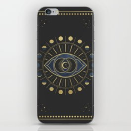 The Third Eye or The Sixth Chakra iPhone Skin