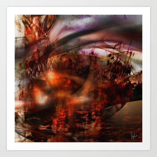 Chaoscop 46 Art Print