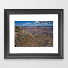The Grand Canyon Dry Color Framed Art Print