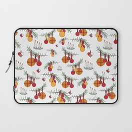 Scandinavian Christmas Snow Hygge Laptop Sleeve