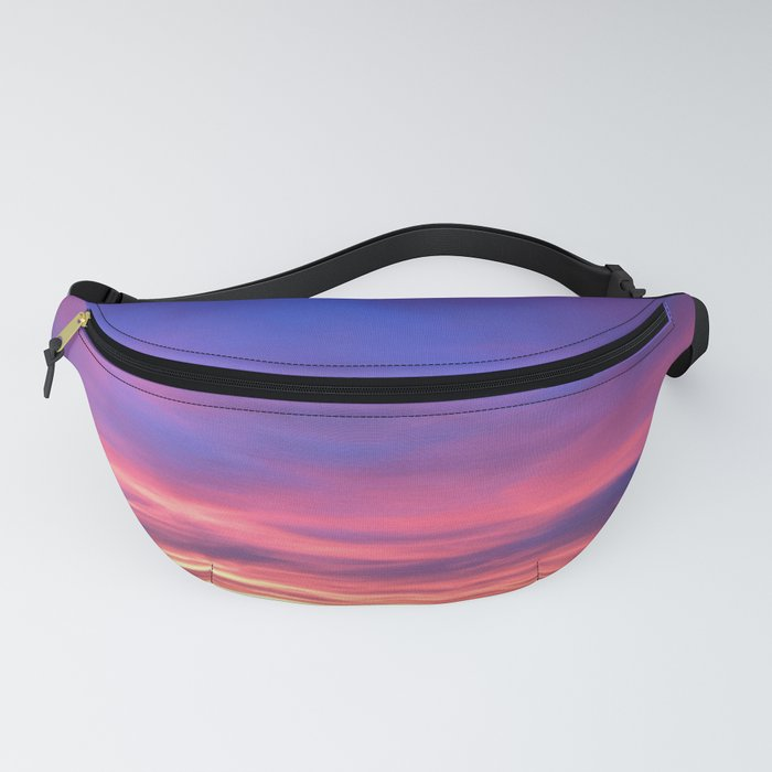 The Watercolor Sunset Fanny Pack