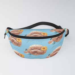 Toy Poodle Fanny Pack
