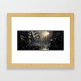 Crossfire Framed Art Print