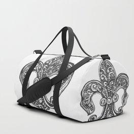 Fleur de Lis Duffle Bag