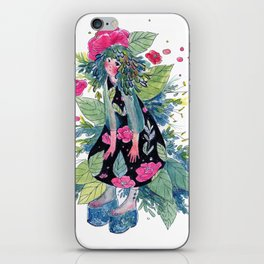 Rosemarie iPhone Skin