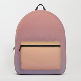 AFTER THOUGHTS - Minimal Plain Soft Mood Color Blend Prints Backpack