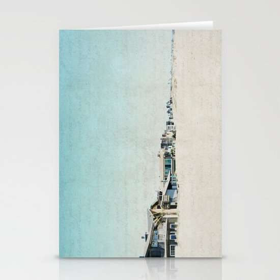 Life On The Beach Stationery Cards