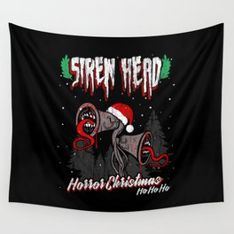 Siren Head horror Christmas Wall Tapestry