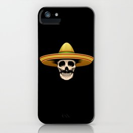 Funny Mexican Skeleton product Gift for Sugar Skull Lovers iPhone Case