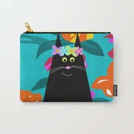 Petunia in Paradise Carry-All Pouch