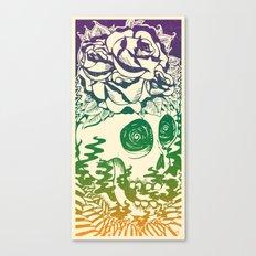 Bad Acid Technicolor Canvas Print