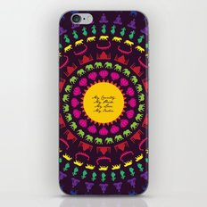 My India.  iPhone & iPod Skin