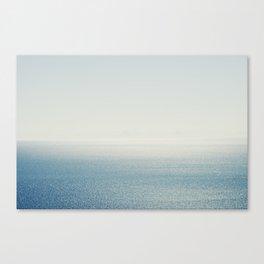Ocean Horizon Diamonds Canvas Print