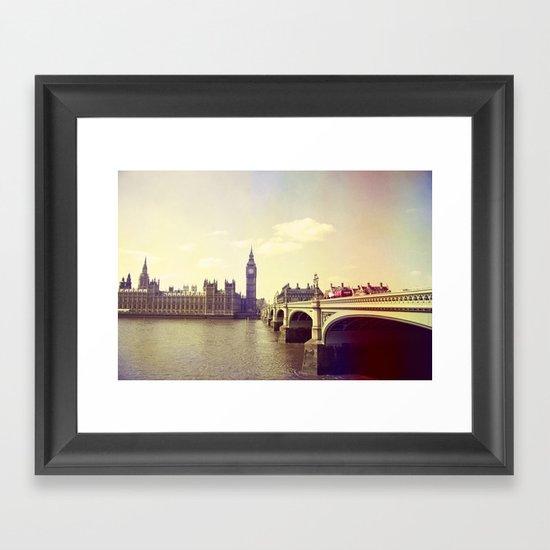 London Impressions II Framed Art Print