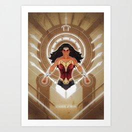 Goddess of Truth Art Print