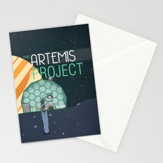 The Artemis Project Stationery Cards