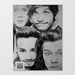Photo Booth Canvas Print