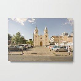 Quito's Church Metal Print