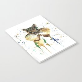 Chipmunk - Feeling Stuffed Notebook
