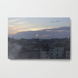 Smoking Chimneys and Convent Rooftops Metal Print