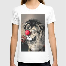 Circus Lion Clown T-shirt