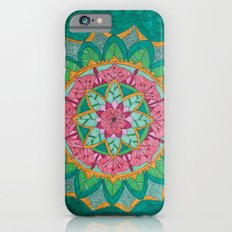 Pink Flower Mandala Slim Case iPhone 6s