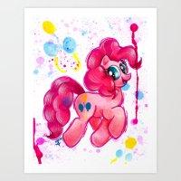 Pinkie Pie Art Print