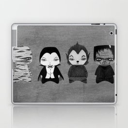 A Boy - Universal Monsters Black & White édition Laptop & iPad Skin
