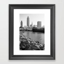 Cleveland Lakefront Framed Art Print