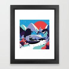 Le Voyage de Léo 2 Framed Art Print