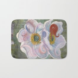 The Happenstance Meeting In The Enchanted Hellebore Bath Mat