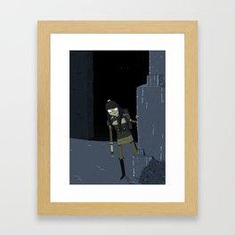 the scythian Framed Art Print