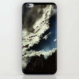 Dark Clouds iPhone Skin