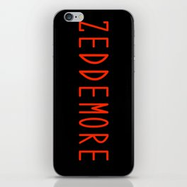 Winston Zeddemore Name Tag iPhone Skin