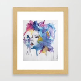 Mother Spring Framed Art Print