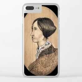 Suzanne B. Anthony Clear iPhone Case