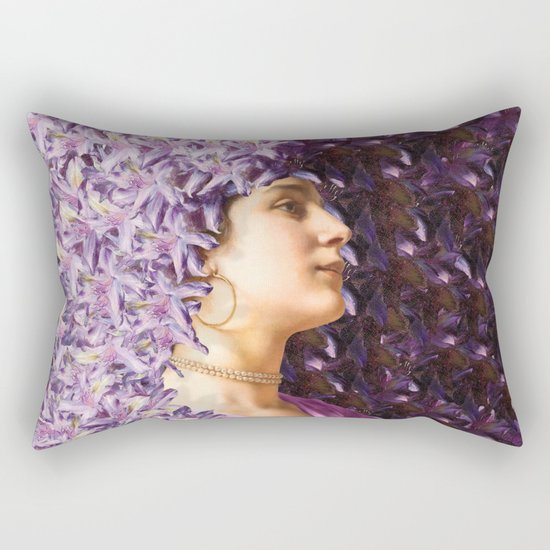 Undying Charm Rectangular Pillow