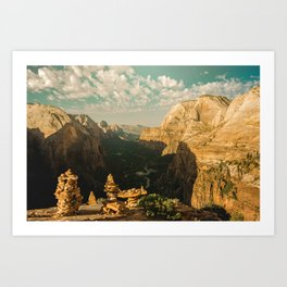 Zion Mornings - National Parks Nature Photography Art Print