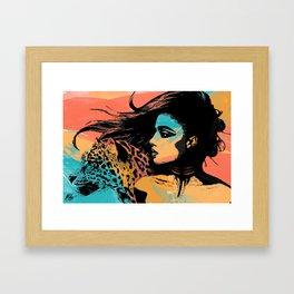 Spirit Animal  Framed Art Print