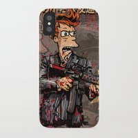 scarface iPhone & iPod Cases featuring Fryface by Beery Method