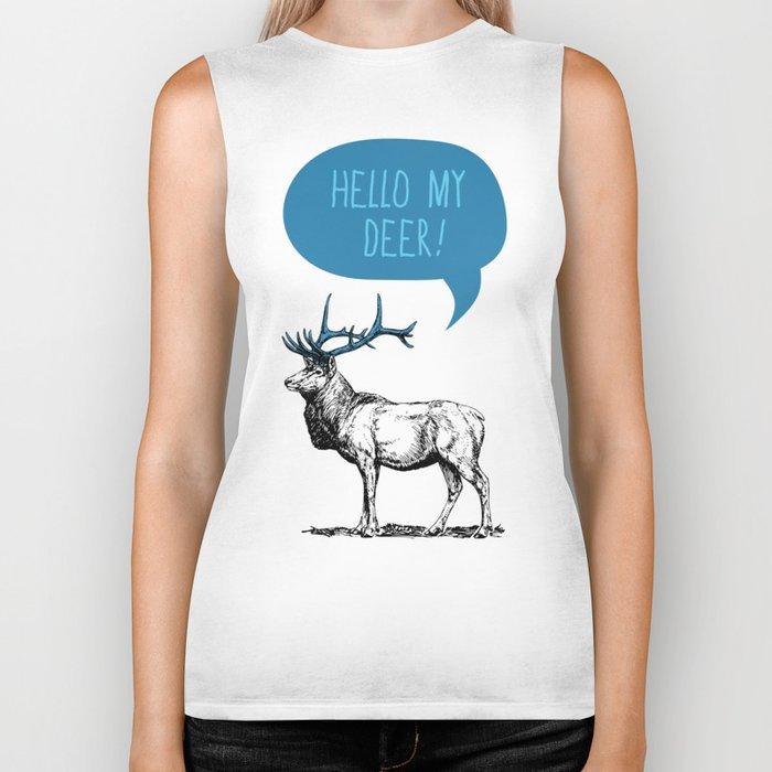 Hello My Deer! Biker Tank