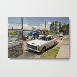 Backstreets of Varadero Metal Print