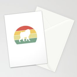 Just A Dad Who Loves Mandrills Mandrill Dad Stationery Cards