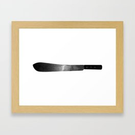 Machete Framed Art Print