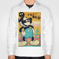 mickey Hoodies featuring Tricky Mickey by Alec Goss