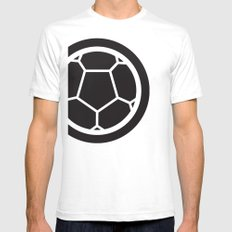 Brazil World Cup 2014 - Poster n°2 SMALL White Mens Fitted Tee